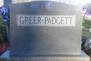 family name on headstone
