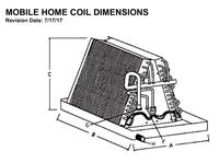 Cased & Uncased A-Coils and Mobile Coils on a coil vs coil, carrier 4 ton evap coil, mobile home a c unit, aor n coil coil,