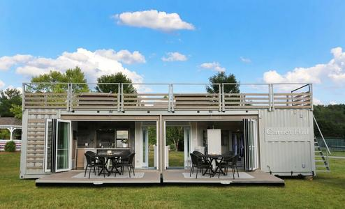 upcycled modern design eco friendly smart technology modecos container homes are a step above in design from other similar products available today