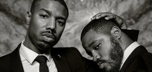 Michael B. Jordan and Ryan Coogler pose for Vanity Vair