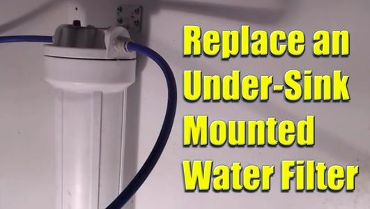 Under Sink Water Filter Replacement Services and Cost in Lincoln, NE | Lincoln Handyman Services