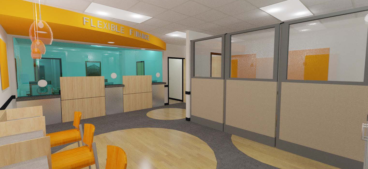 Commercial Construction Modular office Furniture Eagan Building