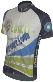 custom charity ride bicycle jersey