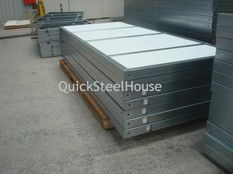 Wall panels of prefabricated houses