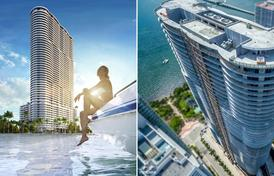 Miami Real Estate; Aria on the Bay; Condos for sale