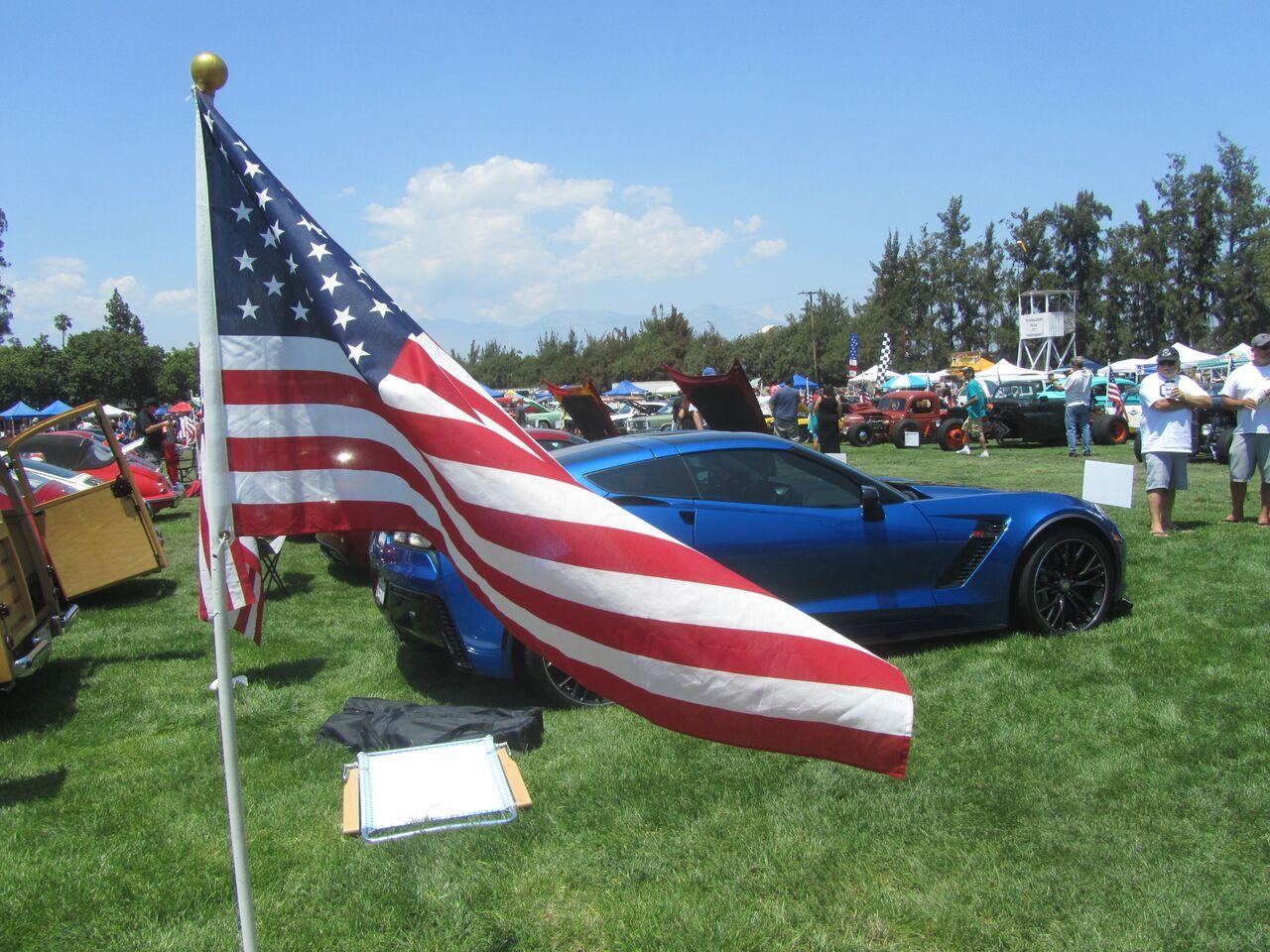Steve McQueen Car Show - Chino hills car show