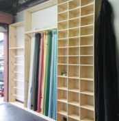 custom shelving unit | GPCurtis