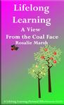 Image of jacket front of Lifelong Learning. Pink and green. Two trees-learning