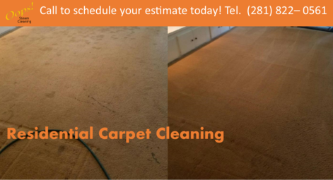 residential carpet cleaning free estimate