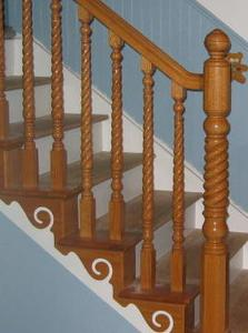Stair Twist Wood Balusters