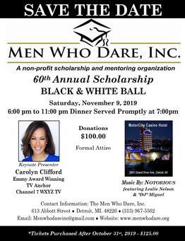 The Men Who Dare Inc In Detroit Mi