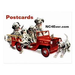 Firefighter Postcards