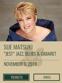 "Sue Matsuki - ""Jest"" Jazz, Blues & Cabaret"