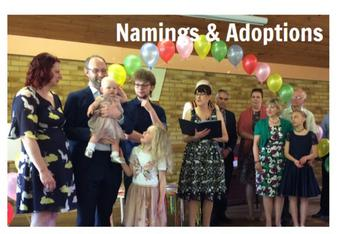 Ana Kelly, Celebrant - Namings and Adoptions