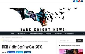 Dark Knight News Cosplay Con Review