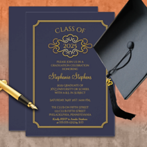 class of 2017, class of 2018 graduation photo and non photo announcements and invitations, stickers, postage stamps, tassel toppers, keepsakes like binders, keychains, mugs and more