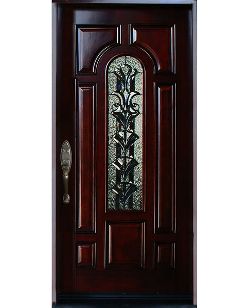 Home improvement architectural design natural entry door for Natural wood front door