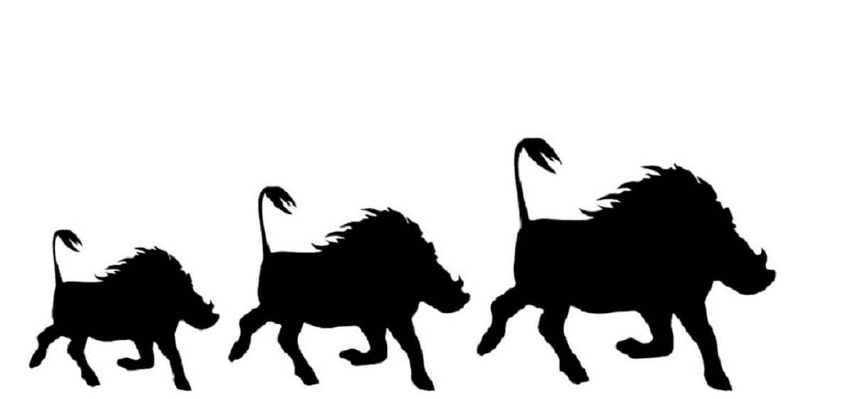 warthog silhouette hawk clip art color hawk clipart wrestling