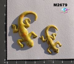 2 Lizards Handmade Mosaic Ceramic Tiles for your Projects M2679