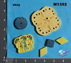 Assorted Southwest Handmade Mosaic Ceramic Tiles For your Projects M1352