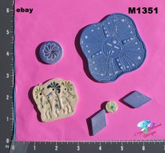 Assorted Southwest Handmade Mosaic Ceramic Tiles For your Projects M1351