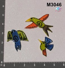 3 Birds Handmade Mosaic Ceramic Tiles for your Mosaic Projects M3046