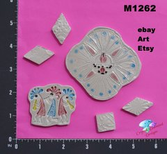 Assorted Southwest Handmade Mosaic Ceramic Tiles For your Projects M1262