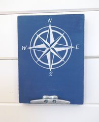 9x12 Compass Rose w/ Boat Cleat