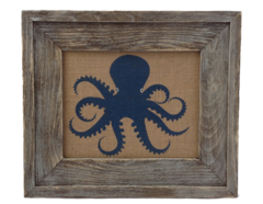 Octopus- Burlap Collection