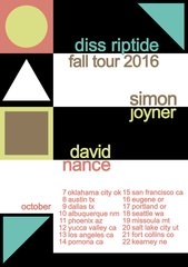 TICKETS for DISS RIPTIDE TOUR 2016: Simon Joyner & David Nance