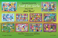 Disposable Placemat Pad For Girls
