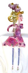 Rose Flower Power Shelf Sitter