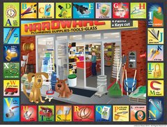 Hardware Store Alphabet Placemat