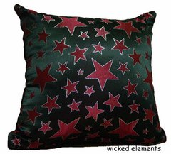 Red Star Pillow (large)