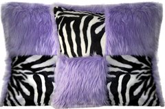 Checkered Pillow Set