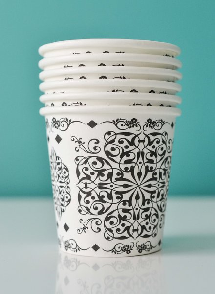 Islamic Design Coffee Cups 4oz