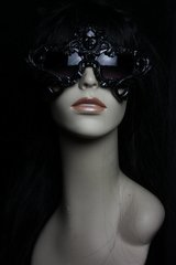 Unisex Art Jewelry Zibellini Glitter Black Architec Medusa Unusual Unique Fancy Sunglasses