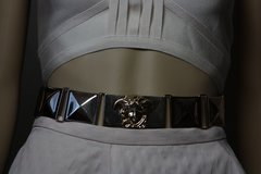 1759 Medusa Gold tone Waist Metal Belt