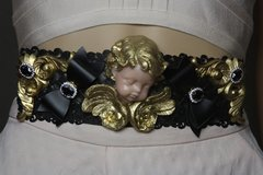 1758 Total Baroque Vivid Cherub Bow Waist Belt