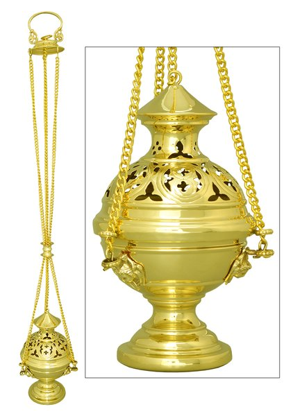 Thurible, Incense Boat and Spoon FM152 | FM Church ...