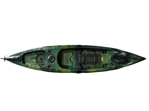 Ark angler 4 0 green camo assabet river kayaks for Angler fish ark