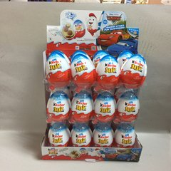 6 boxes of Kinder joy Chocolate eggs for BOYS 6 boxes X 24 count/box
