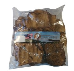 1 lb. Wholesome Hide USA Large Rawhide Chips Case (16 Pieces)