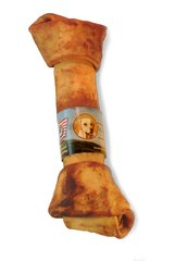 "10-11"" Wholesome Hide USA Rawhide Bone 6-Pack"