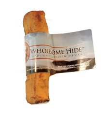 "4-5"" Wholesome Hide USA Rawhide Retriever Roll 6-Pack"