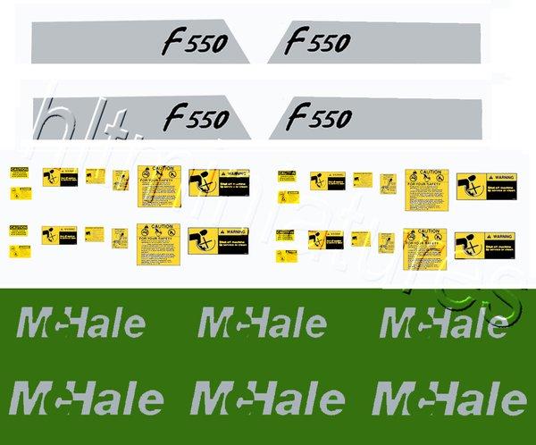 Dec11 Mchale Mower Decals 1 32 Scale Hlt