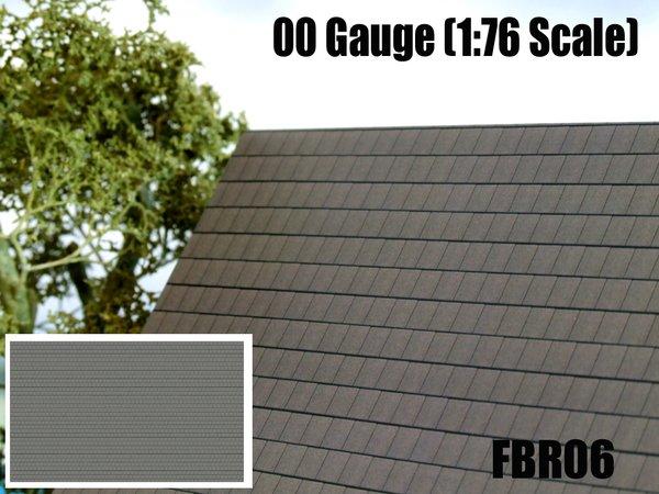 Fbr06 Modern Slate Roof Tiles 2 Hollylovestoys Ltd