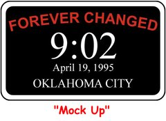 Oklahoma City Memorial Patch