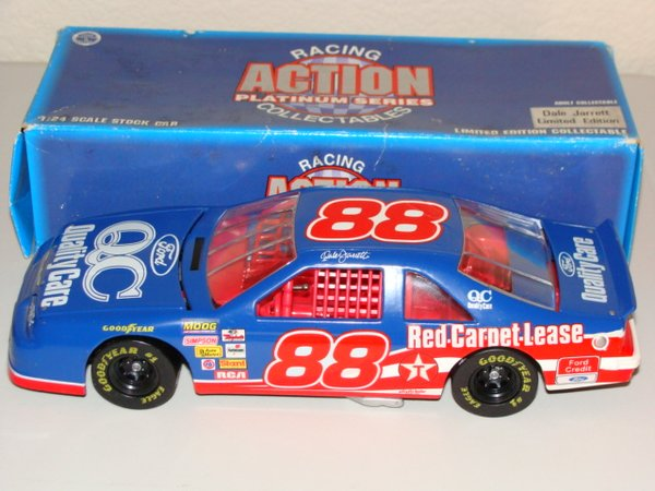 1996 Action 1/24 #88 Quality Care Service Ford Tbird Dale Jarrett CWC