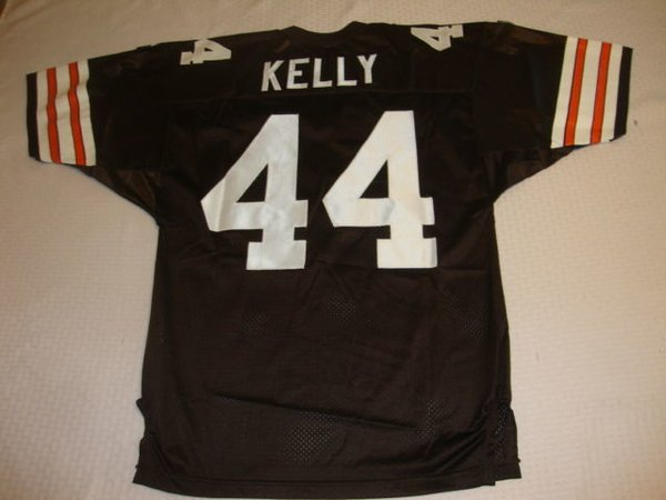 #44 LEROY KELLY Cleveland Browns NFL RB Brown Throwback Jersey